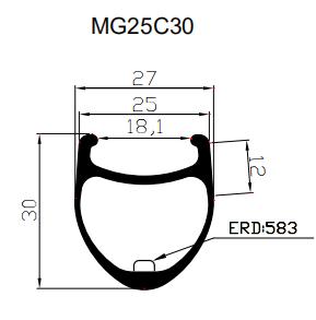 carbon-clincher-rims-2D-drawing
